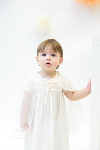 Šilkinė krikšto suknelė
