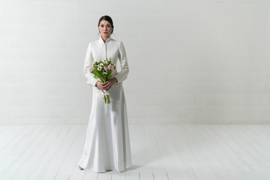 Vestuvinis nuotakos švarkelis