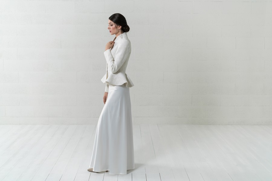 Vestuvinis nuotakos švarkelis - Peplum